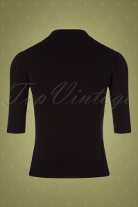 Collectif TV 30801 Turtle Black Knitted Chrissie 12 0002W