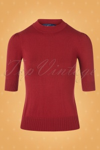 Collectif TV 30803 Turtle Red Knitted Chrissie 12 0001W