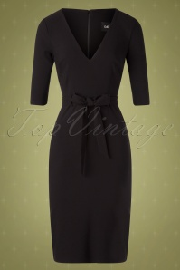 Collectif TV 30814 Pencildress Black Meadow 19 0002W