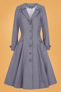 Collectif 29892 Alyssa Swing Coat in Grey 20190430 021LW