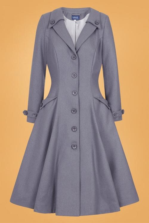 Collectif 29892 Alyssa Swing Coat in Grey 20190430 021LW