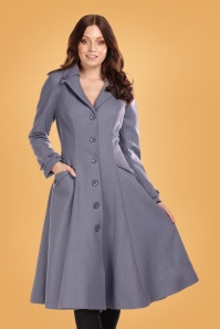 Collectif 29892 Alyssa Swing Coat in Grey 20190430 020LW