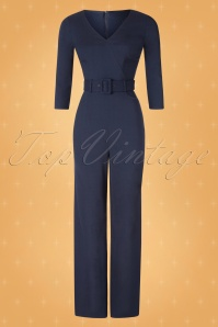 Collectif TV 30825 Jumpsuit Navy Jessi 19 0002W