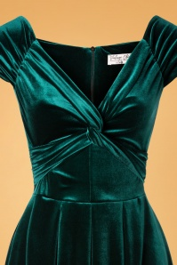 Vintage Chic 32105 Velvet Twiste Green20191009 007V