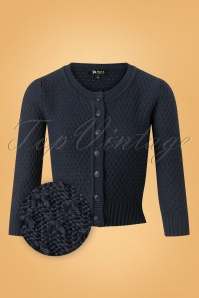 Mak Sweater 50s Jennie Blue Cardigan 140 40 26695 20180806 0003 Z