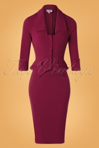 Miss Candyfloss 31041 Pencildress Raspberry 10102019 004 W