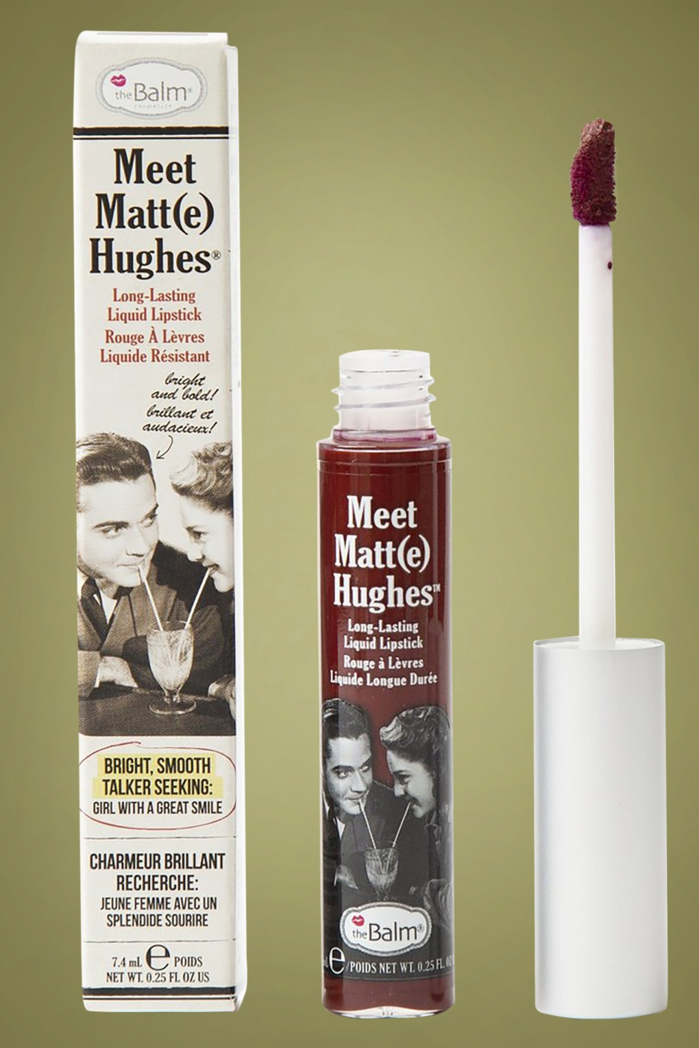 1920s Makeup Starts the Cosmetics Industry- History Meet Matte Hughes in Adoring Merlot £15.29 AT vintagedancer.com