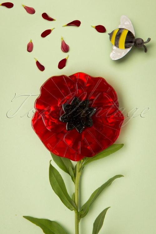 Erst Wilder 32758 Poppy Field Red Black 20191014 008 W