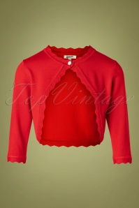 Belsira 32762 Red Cardigan 20191014 0002W