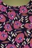 Compania Fantastica 30314 Flower Print Dress 20191014 0003 W