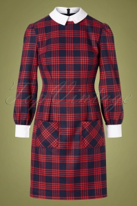 Marmalade Shop 31873 Plaid Pattern Dress 20191014 0003W