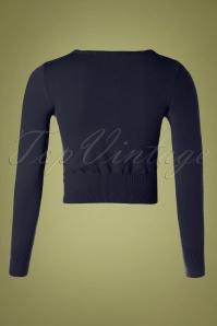 Mak Sweater 32366 Cardigan Crop Black 10162019 004W