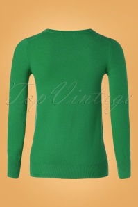 Mak Sweater 32364 Cardigan Green 10162019 004W