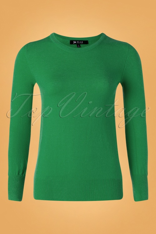 Mak Sweater 32364 Cardigan Green 10162019 002W