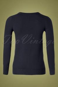 Mak Sweater 32365 Cardigan Blue 10162019 006W