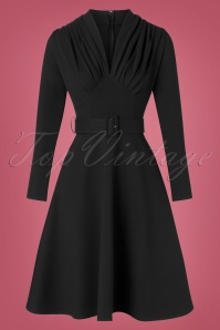 Katakomb 32358 Swingdress Black 10212019 006W