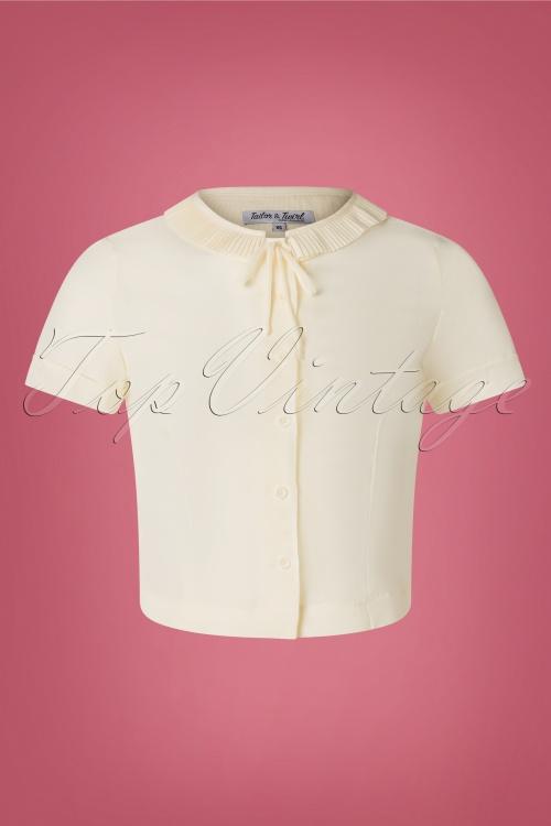 Tatyana 31640 Ingrid Blouse in Cream 20191021 0003 W