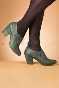Bait Footwear 31232 Howdy Green Heels 20191015 012W