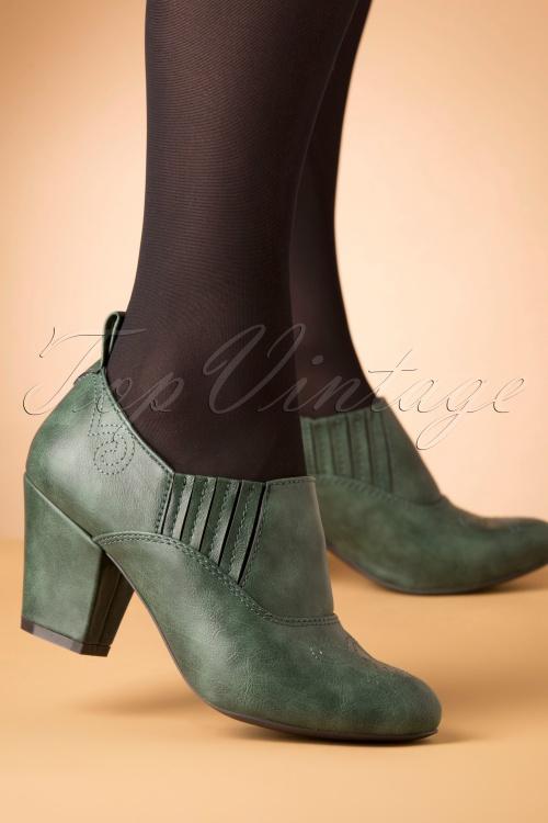 Bait Footwear 31232 Howdy Green Heels 20191015 007W