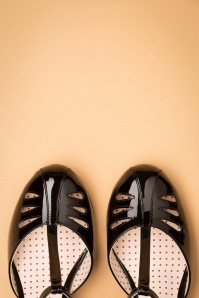 Bait Footwear 31225 Robbie Black Patent T strap 20191015 014 copy