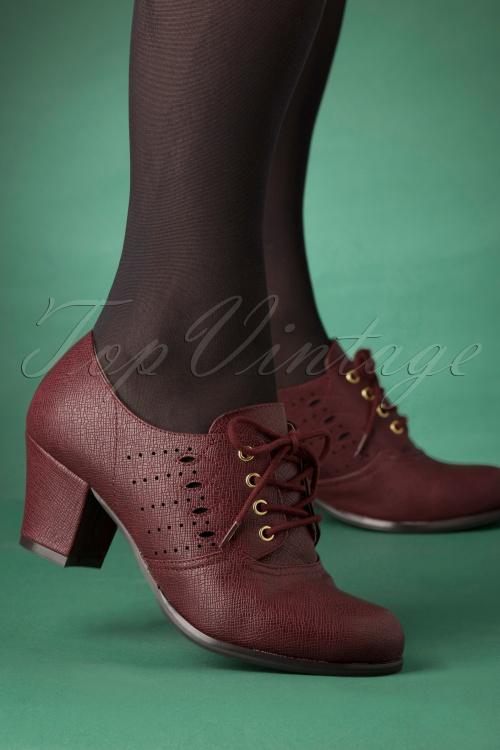 Bait Footwear 31234 Rosie Bootie Red Wine 20191015 004W