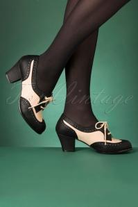 Bait Footwear 31237 Remmy Black White Bootie Heels 20191015 006 copyW