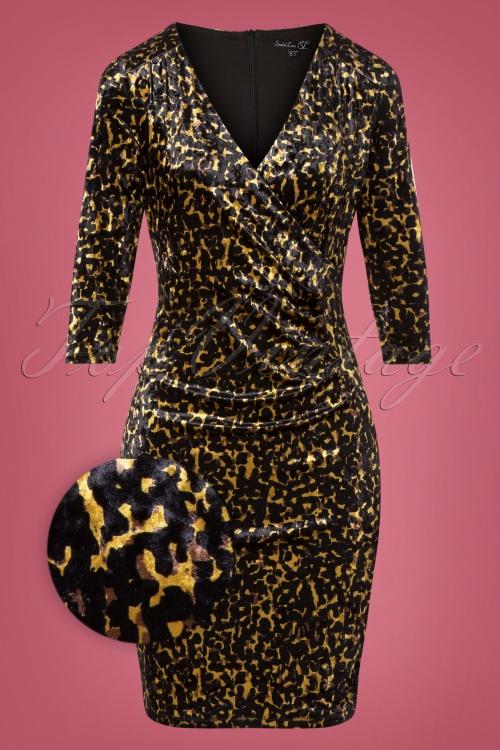 Smashed Lemon 30978 Leopard Pencil Dress 20191021 0003Z
