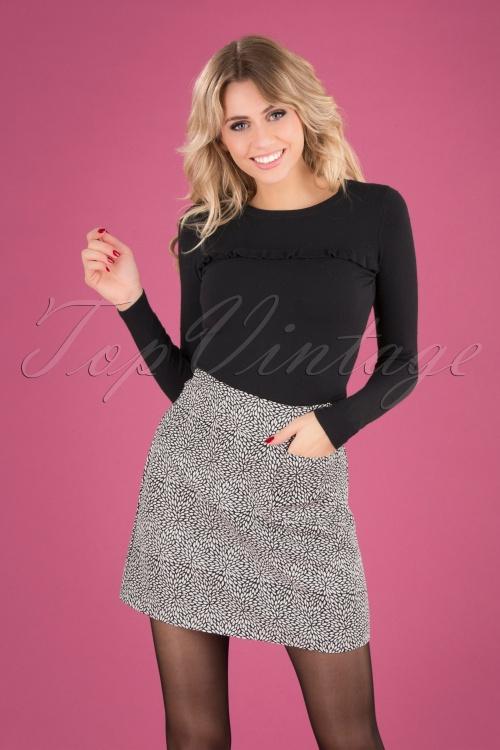 Banned Retro 30615 Jacquard Skirt 20190819 040MW