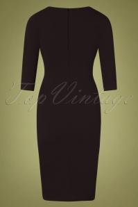Vintage Chic 31148 Black Pencil Dress 20191021 0008W