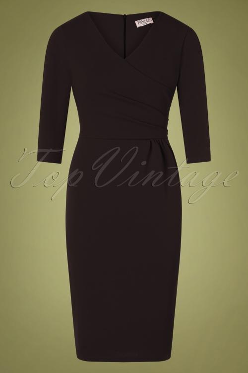 Vintage Chic 31148 Black Pencil Dress 20191021 0002W