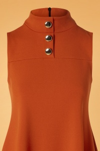 Vintage Chic 32051 Alinedress 60s Cinnamon Jean 10242019 002V