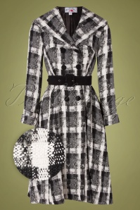 Miss Candyfloss 31056 Coat Swing Black Taran 07162019 000002Z