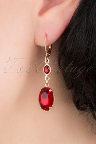 Lovely 31372 OvalStone Ear Ruby 041MW