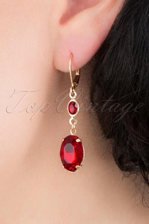 Lovely 31372 OvalStone Ear Ruby 041MW