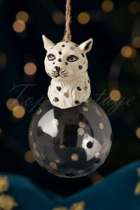 Leopard Head Bauble