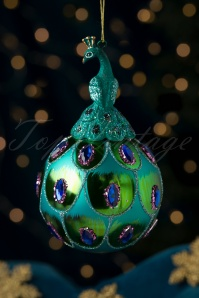 Proud Peacock Bauble