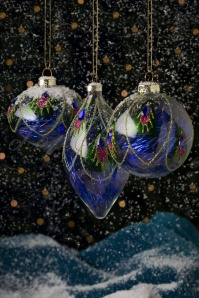 Peacock Feather Baubles