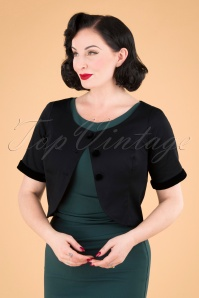50s Dale Jacket in Black