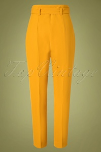 Closet London 32488 Trousers in Gold Yellow 20191025 013W