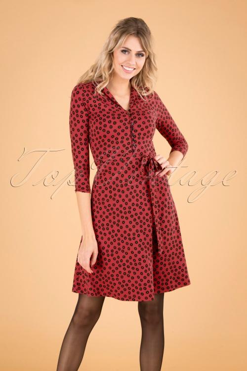 King Louie 29441 Emmy Dress Icon Red Dress20190816 040MW