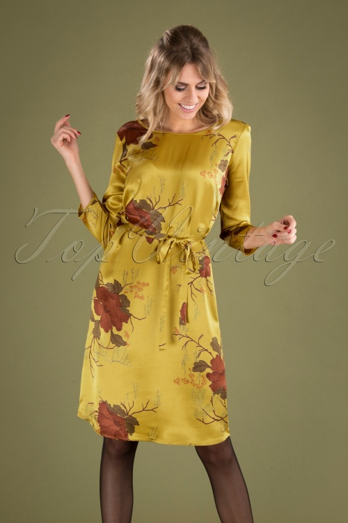 Le Pep 30022 Pencildress Becky Musterd Satin Floral 09162019 040MW