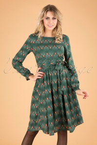 Mademoiselle Yeye 29580 Mindfulness Green Dress 20190822 040MW