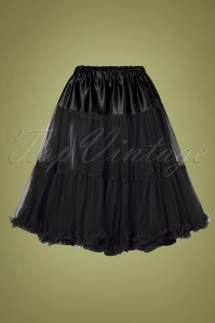 50s Arly Petticoat in Black