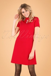 Mademoiselle Yeye 29592 Pure Joy Dress Red 20190725 040MW