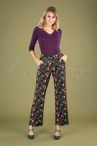 Tante Betsie 29193 Baggy Trousers Flowers 190918 040MW