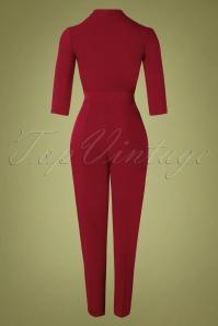 Closet 32491 Jumpsuit Red Wrap 10282019 009W