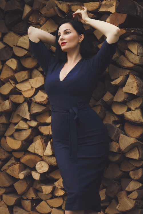 Collectif 29863 Meadow Pencil Dress 20191023 030i