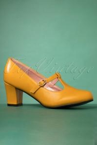 Lulu Hun30507 Pumps Giselle Mustard 10222019 006 W