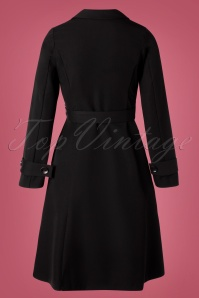 Closet 32490 Coat Black Wrap 10282019 007W