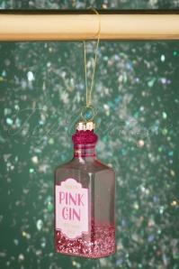 Sass&Belle 32664 Pink Gin Bauble Glitter 20191024 003 W